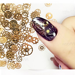 1set Nail Art Decoration tekojalokivi Pearls meikki Kosmeettiset Nail Art Design