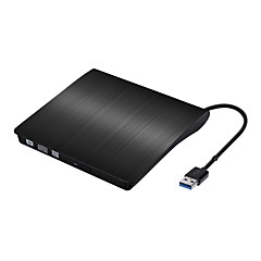 draagbare slanke externe cd-rw-station dvd-r combo brander speler cd-station voor laptop notebook pc