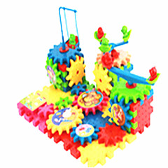 צעצועים לבנים צעצועי דיסקברי אבני בניין צעצוע חינוכי פאזל פלסטיק