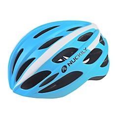 スポーツ 男女兼用 バイク ヘルメット 25 通気孔 サイクリング サイクリング マウンテンサイクリング ロードバイク レクリエーションサイクリング L:58-61CM PC EPS イエロー ホワイト レッド ブラック ブルー