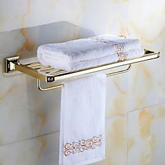 cheap -Bathroom Shelf Contemporary Brass Wall Mounted