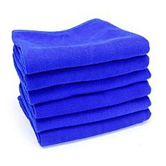 ziqiao 6kpl / paljon mikrokuituliina auton pesu kankaalla pesu pyyhe tuotteet pöly välineitä (30 * 30cm)