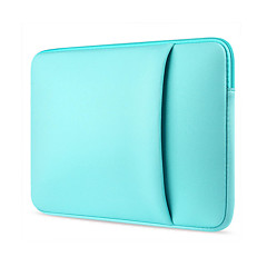 11.6 13.3 14.1 15.6 inch Candy With Side Pocket Laptop Cover Sleeves Shockproof Case Dell/Hp/Sony/Surface/Ausa/Acer/Samsun etc