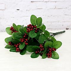 ieftine -1 buchet de fructe roșu de fructe festival de flori acasă decorare floare artificială