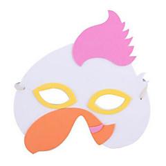 tanie Zabawki nowoczesne i żartobliwe-Maska zwierzęca Zabawki Kura Plastikowy Dla obu płci 1 Sztuk