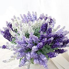 Flori de Nuntă Formă liberă Lavandă Buchete Nuntă Petrecere / Seară Mătase