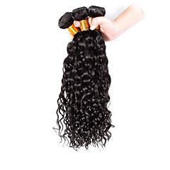 Χαμηλού Κόστους Εξτένσιος μαλλιών με φυσικό χρώμα-3 δεσμίδες Βραζιλιάνικη Σγουρά / Κλασσικά Φυσικά μαλλιά Υφάνσεις ανθρώπινα μαλλιών Υφάνσεις ανθρώπινα μαλλιών Επεκτάσεις ανθρώπινα μαλλιών