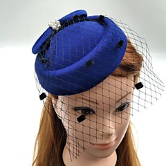 Pearl Fabric Net Fascinators Hats Birdcage Veils Headpiece