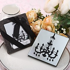 Chandelier Design Glass Coaster Favour 2pcs/box Beter Gifts® Debutante Ball Party Souvenirs
