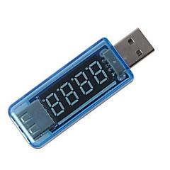 mini usb charger arts huidige spanning laden detector usb mobiele macht stroom en voltmeter amperemeter spanning lader tester