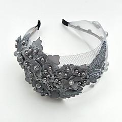 tul de perle dantelă tiaras curele de flori căști stil elegant