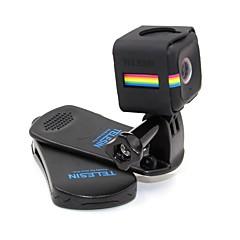 baratos Câmeras Esportivas & Acessórios GoPro-Clipe Tudo em um Conveniência Para Câmara de Acção Polaroid Cube Esqui Surfe Paraquedismo Escalada Moto Viagem Motoclicleta Plástico
