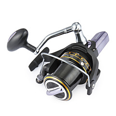 cheap Fishing Reels-Fishing Reel Spinning Reels 4.1:1 Gear Ratio+14 Ball Bearings Hand Orientation Exchangable Sea Fishing