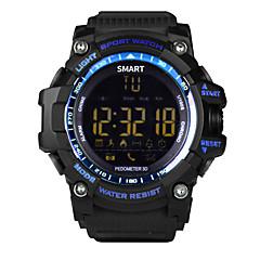 tanie Inteligentne zegarki-Inteligentny zegarek YYEX16 na Android iOS Bluetooth Sport Ekran dotykowy Spalonych kalorii Długi czas czuwania Śledzenie Odległość Rejestrator aktywności fizycznej Rejestrator snu Wysokościomierz