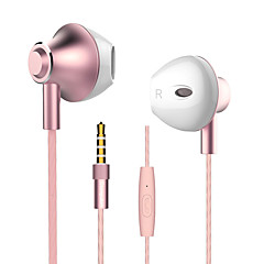 billiga Hörlurar med öronsnäckor-langsdom Langsdom M420 EARBUD Kabel Hörlurar Dynamisk Aluminum Alloy Mobiltelefon Hörlur mikrofon headset