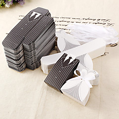 cheap Favor Holders-Round Square Creative Card Paper Favor Holder with Printing Favor Boxes - 12