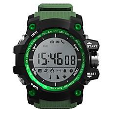 tanie Inteligentne zegarki-Inteligentny zegarek YYXR05 na Android iOS Bluetooth Sport Ekran dotykowy Spalonych kalorii Długi czas czuwania Śledzenie Odległość Rejestrator aktywności fizycznej Rejestrator snu Wysokościomierz