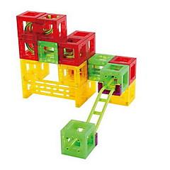 장난감 자동차 대리석 트랙 세트 장난감 3D 플라스틱 고품질 48 조각 어린이날 선물