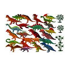 Χαμηλού Κόστους Στοιχεία δεινοσαύρων-Δράκοι και δεινόσαυροι / Kit de Construit / Εικόνα δεινοσαύρων Jurassic Δεινόσαυρος / Τυραννόσαυρος / Velociraptor Ζώα / Προσομοίωση