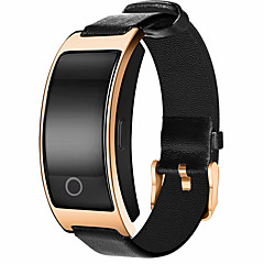 NONE Smart Bracelet צמיד חכםעמיד במים המתנה ארוכה כלוריות שנשרפו מד צעדים מעקב אימון ספורטיבי מוניטור קצב לב מסך מגע Alarm Clock מרחק