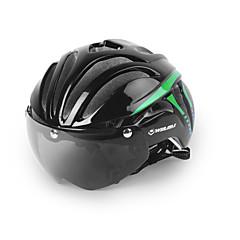 cheap Bike Helmets-Bike Helmet Cycling 11 Vents Adjustable Visor Mountain Urban Full-Face Ultra Light (UL) Youth PC EPS Mountain Cycling Road Cycling