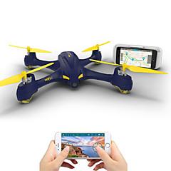 billige Fjernstyrte quadcoptere og multirotorer-RC Drone Hubsan H507A 4 Kanaler 6 Akse 2.4G Med HD-kamera 1080P Fjernstyrt quadkopter FPV / LED Lys / En Tast For Retur Fjernstyrt