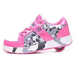 Kinder Skate Schuhe Rutschfest Atmungsaktiv Wasserdicht Einstellbar Schwarz/Blau/Rosa