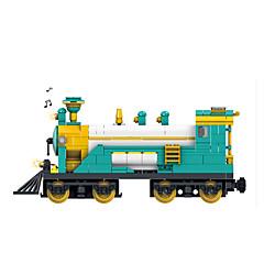אבני בניין מכוניות צעצוע רכבת צעצועים רכבת לילדים 851 חתיכות