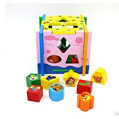 Bausteine Bildungsspielsachen Spielzeuge Spielzeuge Tiere Kinder Stücke