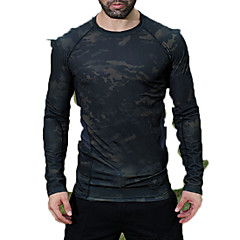 cheap Hunting & Nature-Men's Top Hunting Leisure Sports Quick Dry Spring Summer Fall Winter Athleisure 1 pc