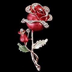 Dámské Brože láska Slitina Červená Šperky Pro Svatební Párty Zvláštní příležitosti Halloween Denní Ležérní