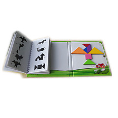 baratos -Tangram Blocos de Construir Magnética Crianças Unisexo Para Meninos Para Meninas Brinquedos Dom