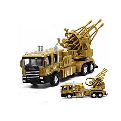 Χαμηλού Κόστους Toy Trucks & Τεχνικά Οχήματα-Στρατιωτικό όχημα / Τανκ Παιχνίδια φορτηγά και κατασκευαστικά οχήματα / Παιχνίδια αυτοκίνητα / Μοντέλο αυτοκινήτου 1:32 Μουσική & Φως