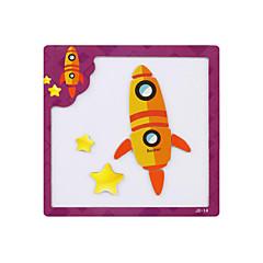 3D - Puzzle Bildungsspielsachen Holzpuzzle Spielzeuge Spielzeuge 3D Kinder Stücke