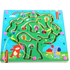 tanie Gry i puzzle-Klocki Magnetyczne labirynty Gadżety antystresowe Zabawka edukacyjna Zabawki Kwadrat Magnetyczne DZIECIĘCE Dla dzieci Sztuk