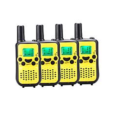 billige Walkie-talkies-899 446 Håndholdt Programmeringskabel / Strømsparefunksjon / VOX 5-10 km 5-10 km 8 1200 mAh 0.5 W Walkie Talkie Toveis radio
