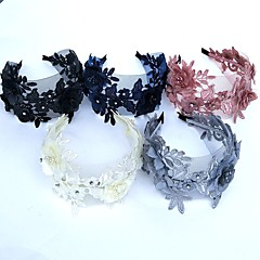 Women's Feather / Tulle / Chiffon Headpiece-Wedding / Special Occasion Fascinators 1 Piece
