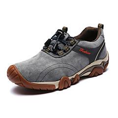 登山鞋 Sneaker Bergschuhe Herrn Rutschfest Anti-Shake Atmungsaktiv Wasserdicht Halbschuhe Vollnarbenleder EVA Wandern