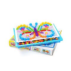 Sets zum Selbermachen Bildungsspielsachen Holzpuzzle Spielzeuge Pilz Schmetterling Heimwerken Kinder 295 Stücke