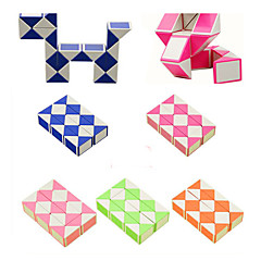 cheap -Rubik's Cube Snake Cube 3*3*3 Smooth Speed Cube Snake Cube Educational Toy Puzzle Cube Smooth Sticker Kid's Toy Unisex Boys' Girls' Gift