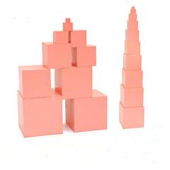 Bildungsspielsachen Spielzeuge Zylinderförmig Turm Kinder 1 Stücke