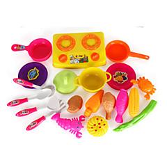 Hrajeme si na... Toy kuchyňských sestav Hračky Zelenina Hračky Simulace Unisex Pieces