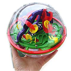 Bretsspiele Bälle Labyrinth & Puzzles Matze Wissenschaft & Entdeckerspielsachen Spielzeuge Kreisförmig 3D keine Angaben Stücke