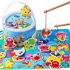 Bausteine Bildungsspielsachen Angeln Spielzeug Spielzeuge Fische Stücke Kinder Jungen Geschenk