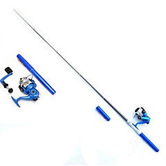 cheap Fishing Rods-Fly Rod Mini Rod / Pen Rod Iso Rod Fishing Rod Iso Rod FRP 100 cm Sea Fishing Fly Fishing Ice Fishing Trolling & Boat Fishing 5 sections