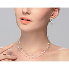 cheap Necklaces-Women's Pearl Choker Necklace - Euramerican Necklace For Wedding Party Special Occasion Birthday Engagement Gift Casual Valentine