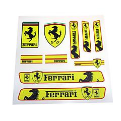 auto sticker embleem embleem badge pvc bumper voor ferrari