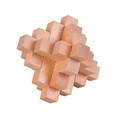 preiswerte -Holzpuzzle Knobelspiele Luban Geduldspiel Quadratisch Intelligenztest Holz Unisex Geschenk