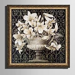 Framed Canvas Set Landscape Fl Botanical Wall Art Pvc Material With Frame Home Decoration Living Room Bedroom