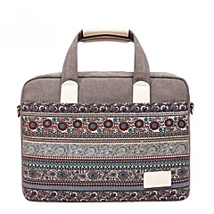 cheap Laptop Bags-13.3 14.1 15.6 inch Bohemian Style Stitching Computer Bag Handbag Shoulder Bag for Surface/Dell/HP/Samsung/Sony etc